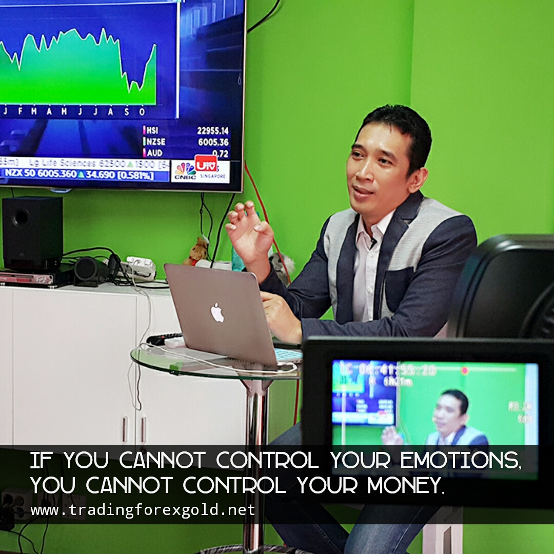 Control your emotions when you are in forex